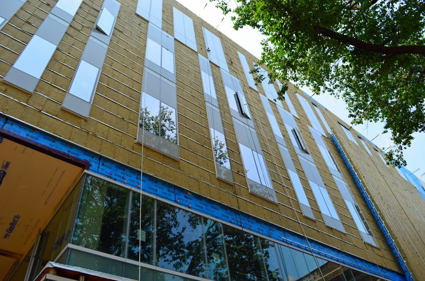 Rainscreen attachment systems knight wall systems Direct applied exterior finish system