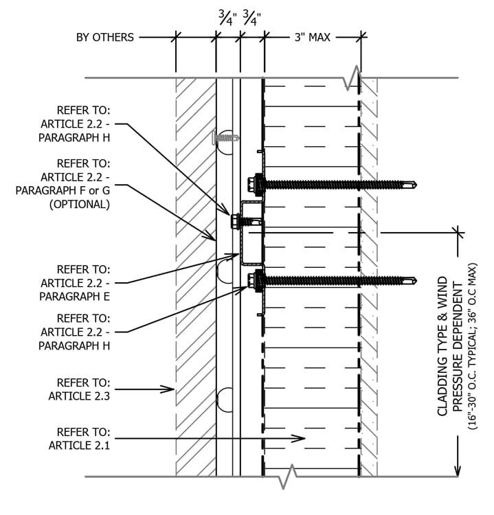 Knight Ci 174 Amp Hci System Rainscreen Attachment Guide